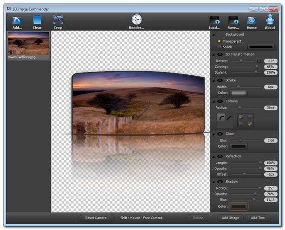 3D Image Commander v2.07