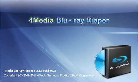 4Media Blu Ray Ripper v5.2.12 Build 0323