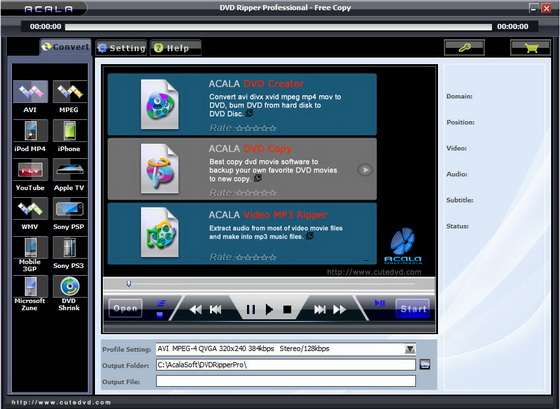 Acala DVD Ripper Professional v6.1.2
