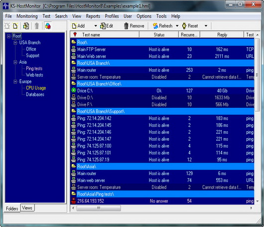 Advanced Host Monitor v8.72