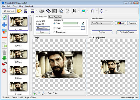 Animated GIF Producer v5.0