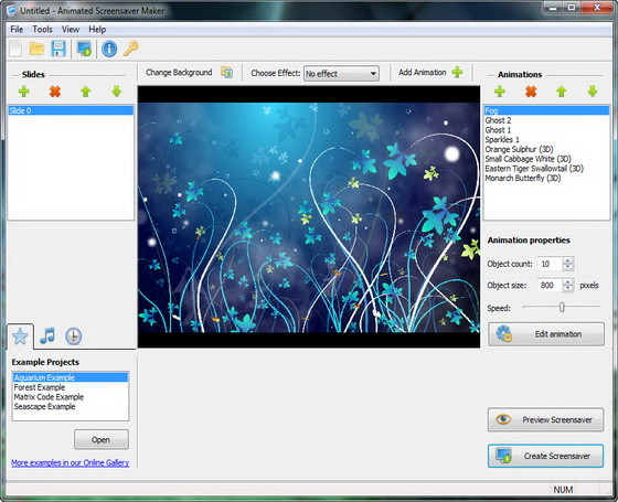 Animated Screensaver Maker v2.4.9