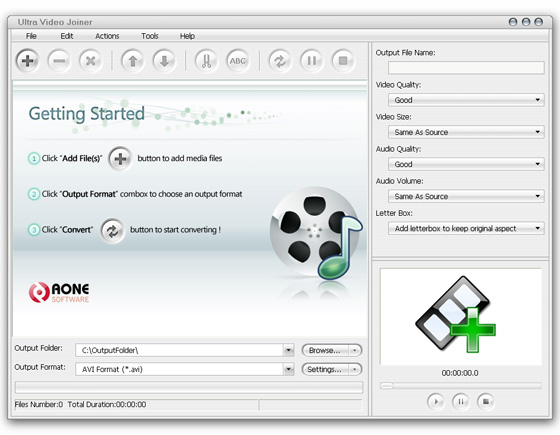 Aone Ultra Video Joiner v6.1.0104