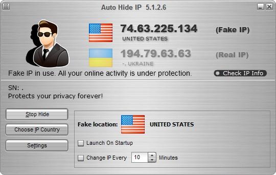 Auto Hide IP v5.1.2.6