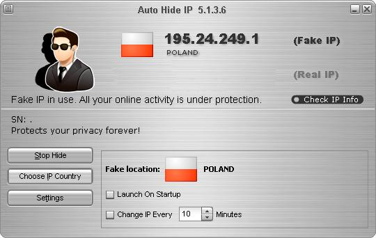 Auto Hide IP v5.1.3.6