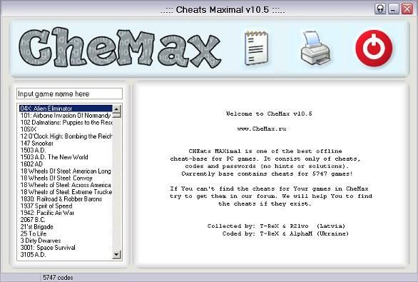 CheMax v10.5 Rus