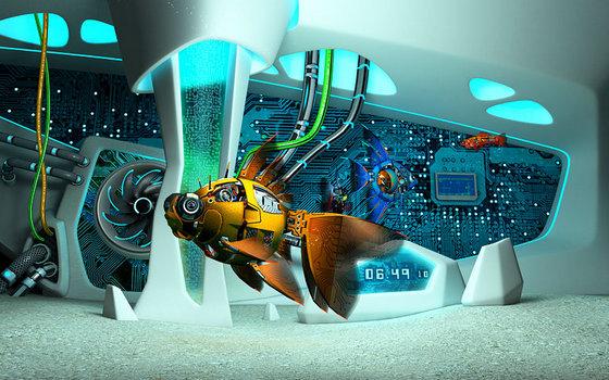 Cyberfish 3D Screensaver v1.0.2
