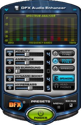 DFX Audio Enhancer v9.302