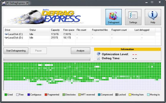 DefragExpress v1.50