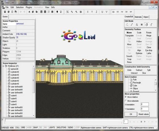 DeleD 3D Editor v2.44 CE