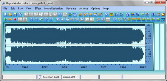 Digital Audio Editor v7.6.0.157