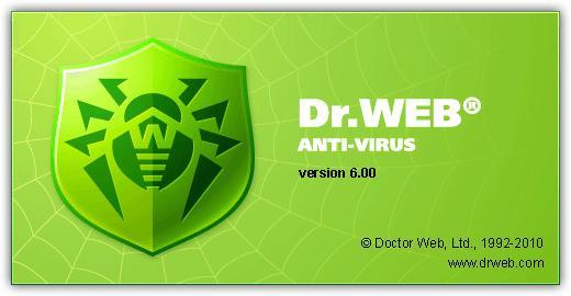 Dr.Web Anti-virus & Security Space Pro v6.00.0.08111