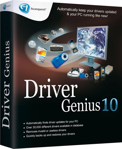 Driver Genius Professional v10.0.0.526 Rus RePack