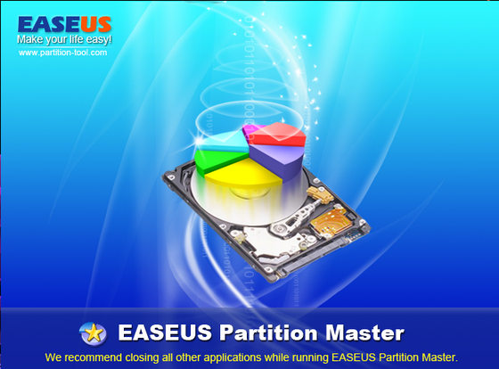 EASEUS Partition Master v7.1.1 Home Edition