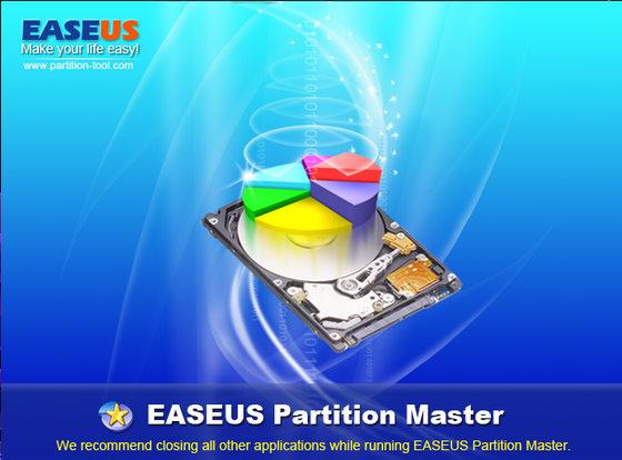 EASEUS Partition Master v7.1.1 Home Edition