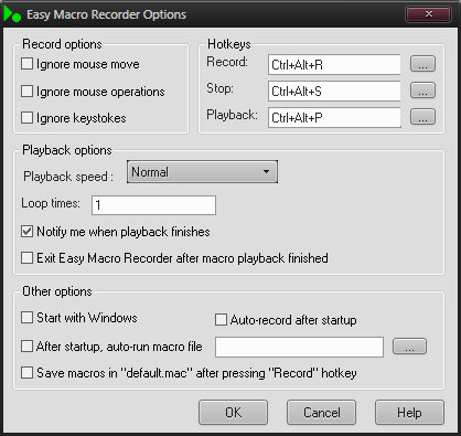 Easy Macro Recorder v4.2