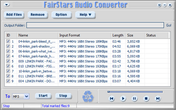 Fairstars Audio Converter v1.92