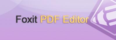 Foxit PDF Editor v2.2.1 Build 1102