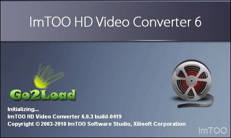 ImTOO HD Video Converter v6.0.3 Build 0419