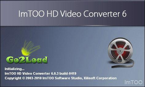 ImTOO HD Video Converter v6.0.3 Build 0419