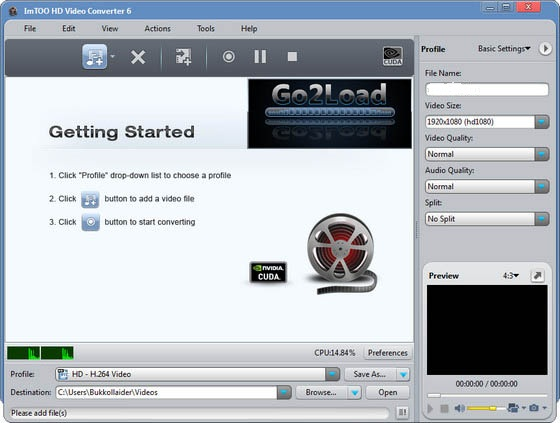 ImTOO HD Video Converter v6.0.5.0707