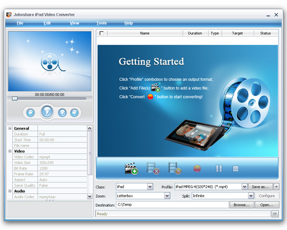 Joboshare iPad Video Converter v2.8.9.0215