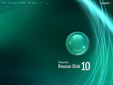Kaspersky Rescue Disk v10.0.23.29