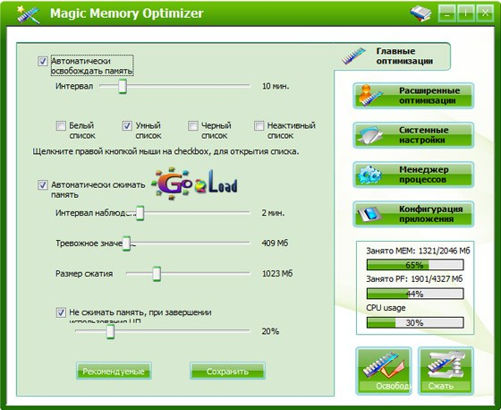 Magic Memory Optimizer v8.2.1.502
