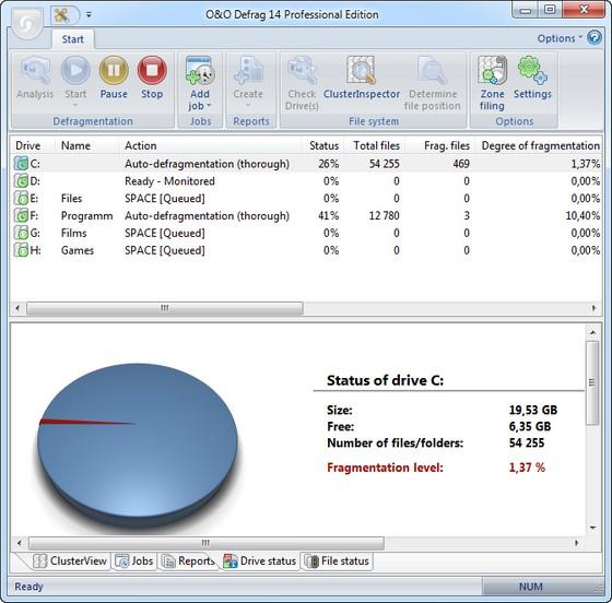 O&O Defrag Professional v14.0.145