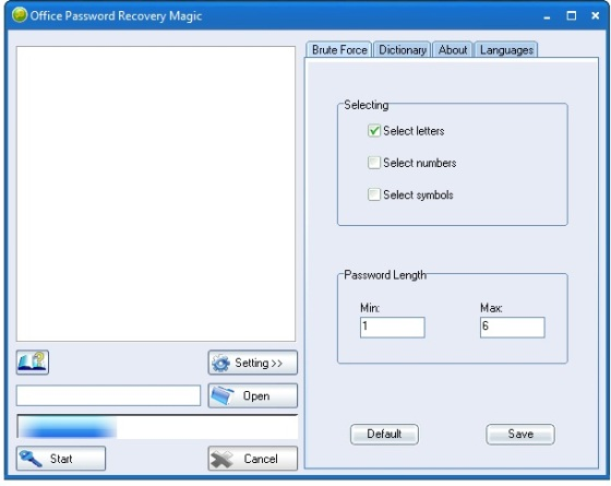 Office Password Recovery Magic v6.1.1.278