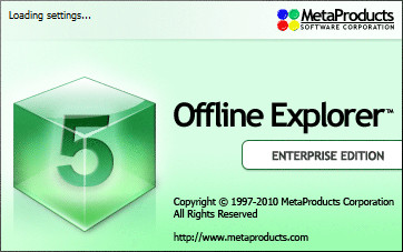 Offline Explorer Enterprise v5.9.3284 SR2