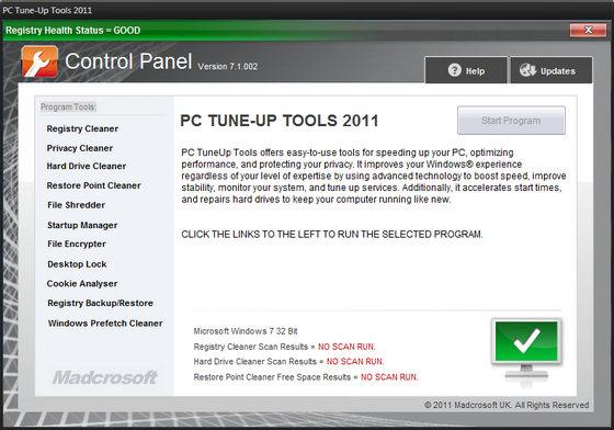 PC TuneUp Tools 2011 v7.1.002