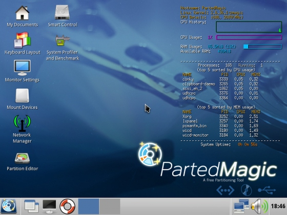 Parted Magic v2011.11.24