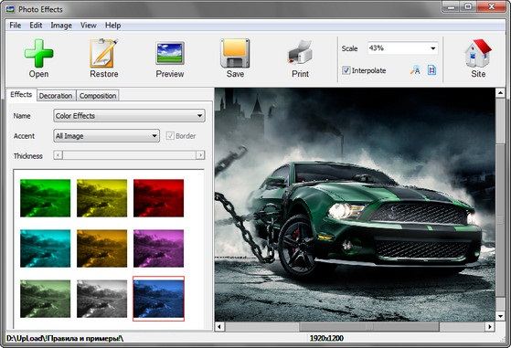 Photo Effects v2.67