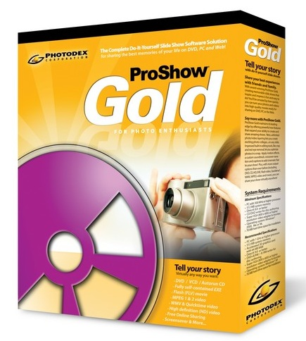 Photodex ProShow GoldProducer v4.51.3003