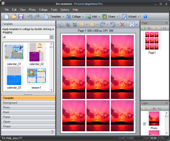 Picture Collage Maker Pro v2.5.0 Build 3249