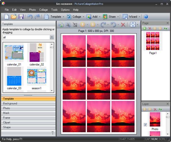 Picture Collage Maker Pro v2.5.0 Build 3249