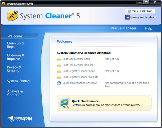 Pointstone System Cleaner v5.94i