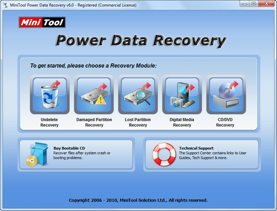 Power Data Recovery v6.0