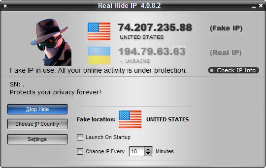 Real Hide IP v4.0.8.2