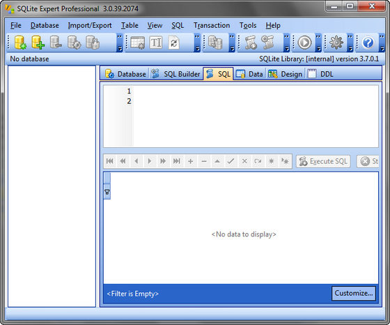 SQLite Expert Professional v3.0.39