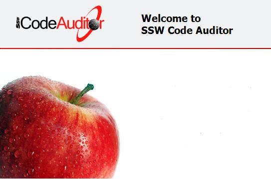 SSW Code Auditor v13.45