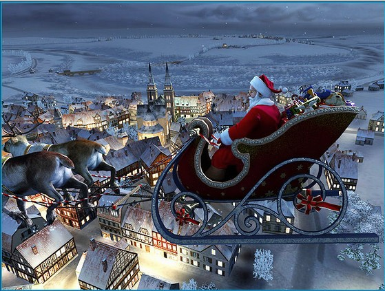 Santa Claus 3D Screensaver v1.0