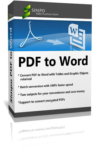 Simpo PDF to Word v3.4.2.0