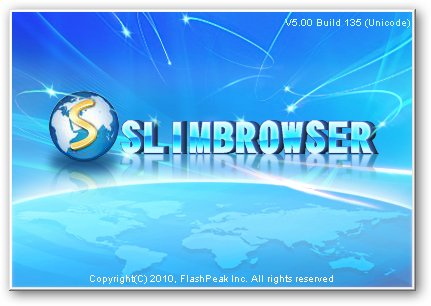 Slim Browser v5.00 Build 135 Final