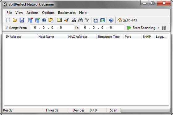 SoftPerfect Network Scanner v5.0.0