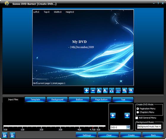 Sonne DVD Burner v4.3.0.2088