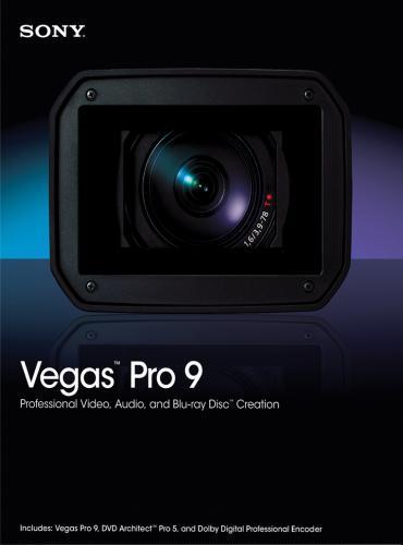 Sony Vegas Pro v9.0.1133d