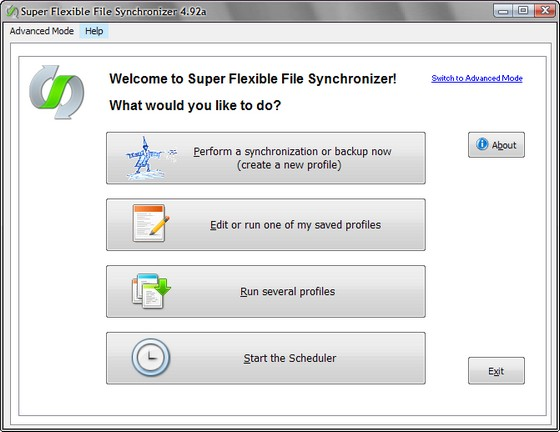 Super Flexible File Synchronizer v4.92