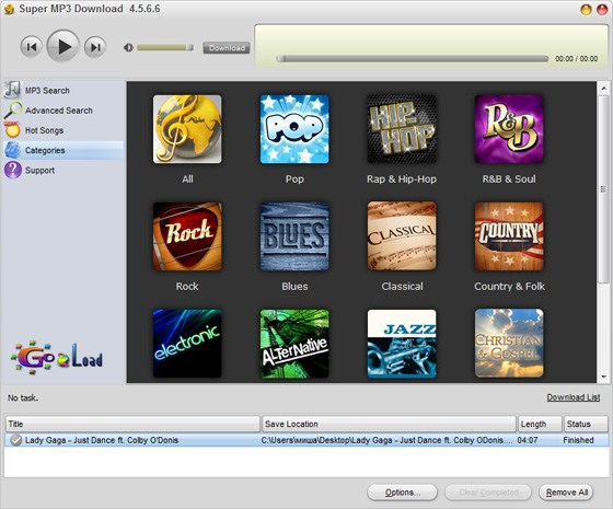 Super MP3 Download v4.5.6.6